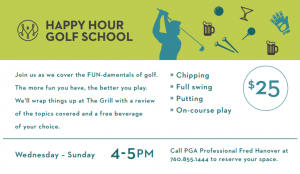 Happy Hour Golf School